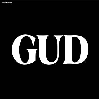 Plateomslag til Sverre Knudsens Gud (2018)