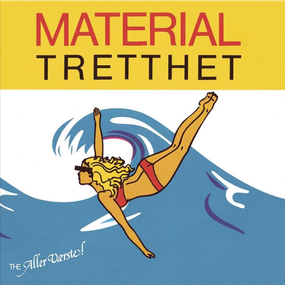 Forsiden av omslaget til Material Tretthet (1980)